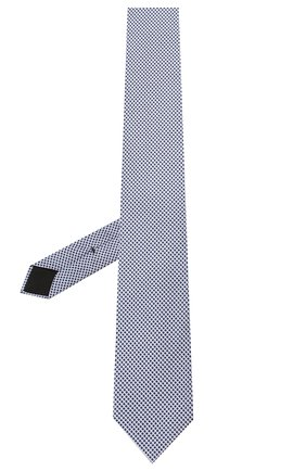 Мужской шелковый галстук BOSS синего цвета, арт. 50434742 | Фото 2
