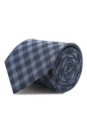 Мужской галстук BOSS синего цвета, арт. 50433669 | Фото 1