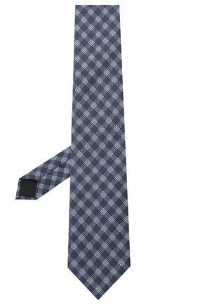 Мужской галстук BOSS синего цвета, арт. 50433669 | Фото 2