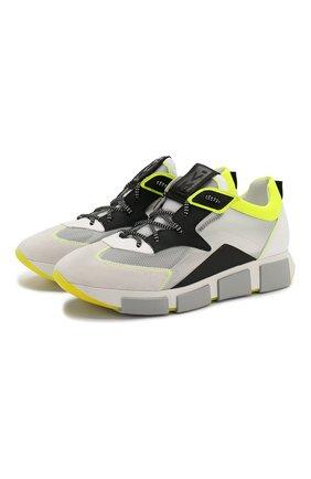 Мужские комбинированные кроссовки VIC MATIE разноцветного цвета, арт. 1X8132U.V04C4ABQ48 | Фото 1