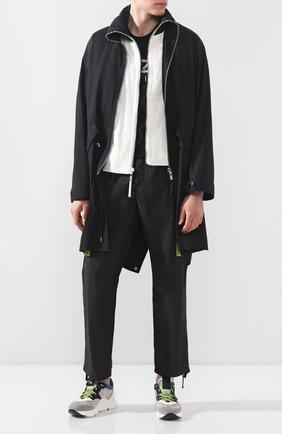 Мужские комбинированные кроссовки VIC MATIE серого цвета, арт. 1X8132U.V04C4ABQ83 | Фото 2