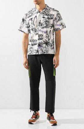 Мужские комбинированные кроссовки VIC MATIE хаки цвета, арт. 1X8140U.V04TVWTD11 | Фото 2