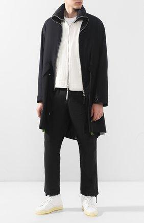 Мужские кожаные кеды RBRSL белого цвета, арт. 7X2131U.U50CWJB015 | Фото 2