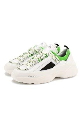 Мужские комбинированные кроссовки RBRSL белого цвета, арт. 7X2162U.V70TX9TD00 | Фото 1