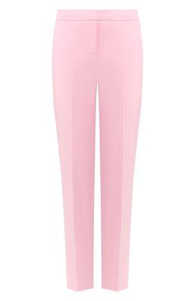 Женские брюки ERMANNO ERMANNO SCERVINO розового цвета, арт. 46T PL07 GIS   Фото 1