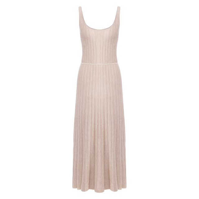 Платье из смеси кашемира и шелка Gabriela Hearst