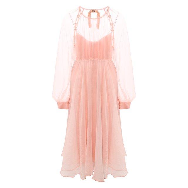 Шелковое платье N21