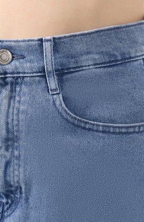 Женская джинсовая юбка BOSS синего цвета, арт. 50434539 | Фото 5