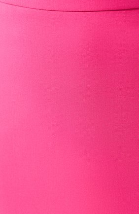 Женская шерстяная юбка BOSS фуксия цвета, арт. 50432874 | Фото 5