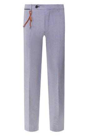 Мужской шерстяные брюки BERWICH синего цвета, арт. SC/1 ALC/MZ1506 | Фото 1