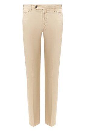 Мужской хлопковые брюки BERWICH бежевого цвета, арт. VULCAN0/MX011X | Фото 1