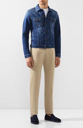 Мужской хлопковые брюки BERWICH бежевого цвета, арт. VULCAN0/MX011X | Фото 2