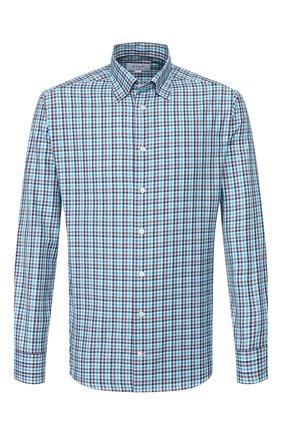 Мужская хлопковая рубашка ETON синего цвета, арт. 1000 01603 | Фото 1