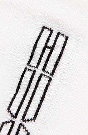 Мужские комплект из двух пар носков HUGO белого цвета, арт. 50433361   Фото 2