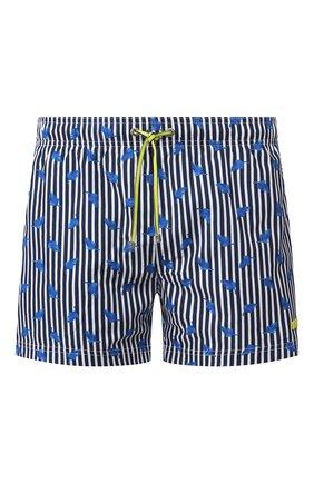 Детского плавки-шорты BOSS темно-синего цвета, арт. 50432295 | Фото 1