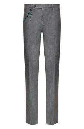 Мужской шерстяные брюки BERWICH серого цвета, арт. SC/1 ALC/MZ1506 | Фото 1