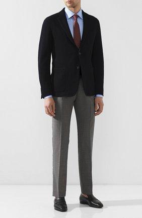 Мужской шерстяные брюки BERWICH серого цвета, арт. SC/1 ALC/MZ1506 | Фото 2