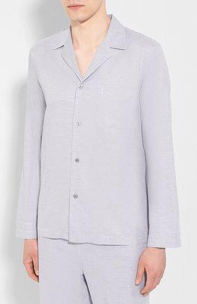 Мужская хлопковая пижама FRETTE серого цвета, арт. 20100500 00F 00845 | Фото 2