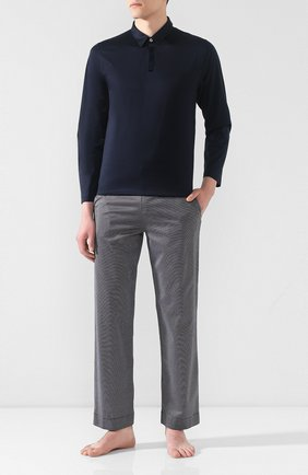 Мужская хлопковая пижама FRETTE темно-синего цвета, арт. 20100506 00F 00848 | Фото 1