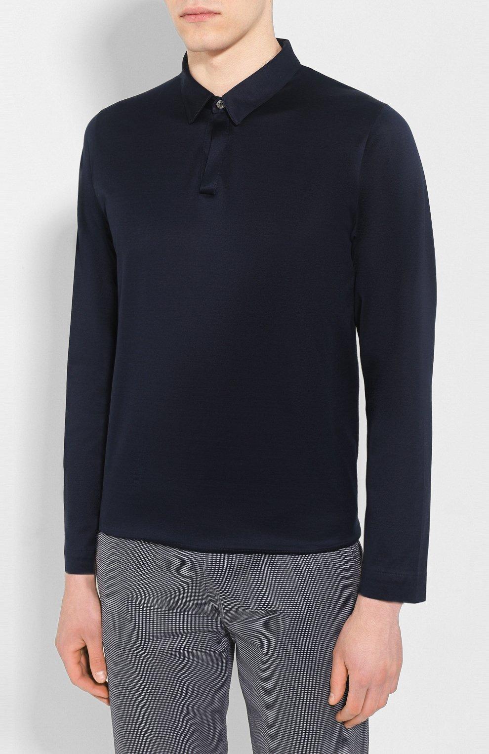 Мужская хлопковая пижама FRETTE темно-синего цвета, арт. 20100506 00F 00848 | Фото 2