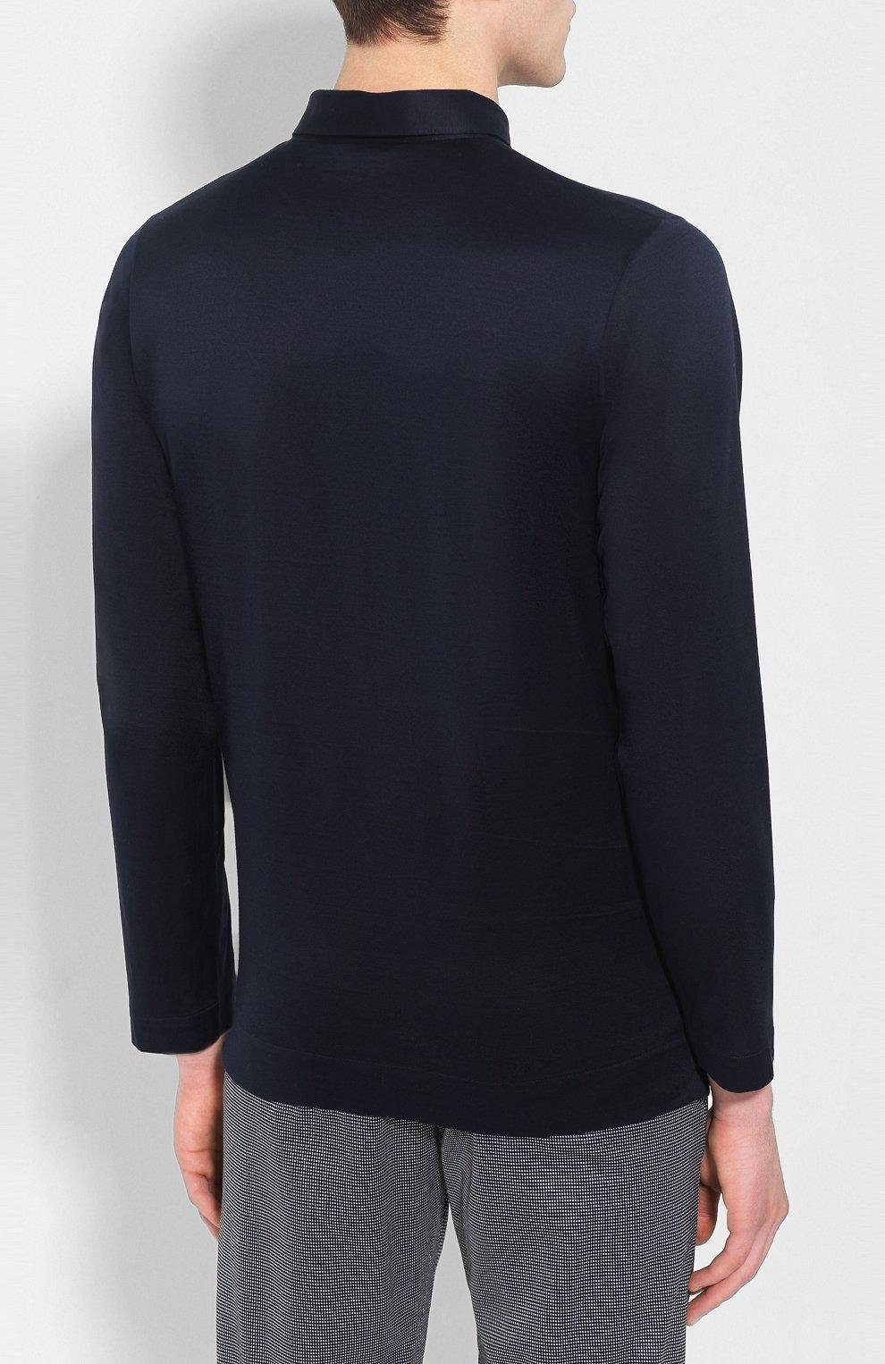 Мужская хлопковая пижама FRETTE темно-синего цвета, арт. 20100506 00F 00848 | Фото 3