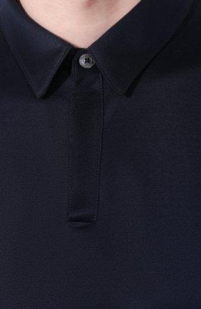 Мужская хлопковая пижама FRETTE темно-синего цвета, арт. 20100506 00F 00848 | Фото 6