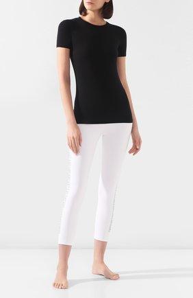 Женская футболка DOLCE & GABBANA черного цвета, арт. 08B01T/FUGJT | Фото 2