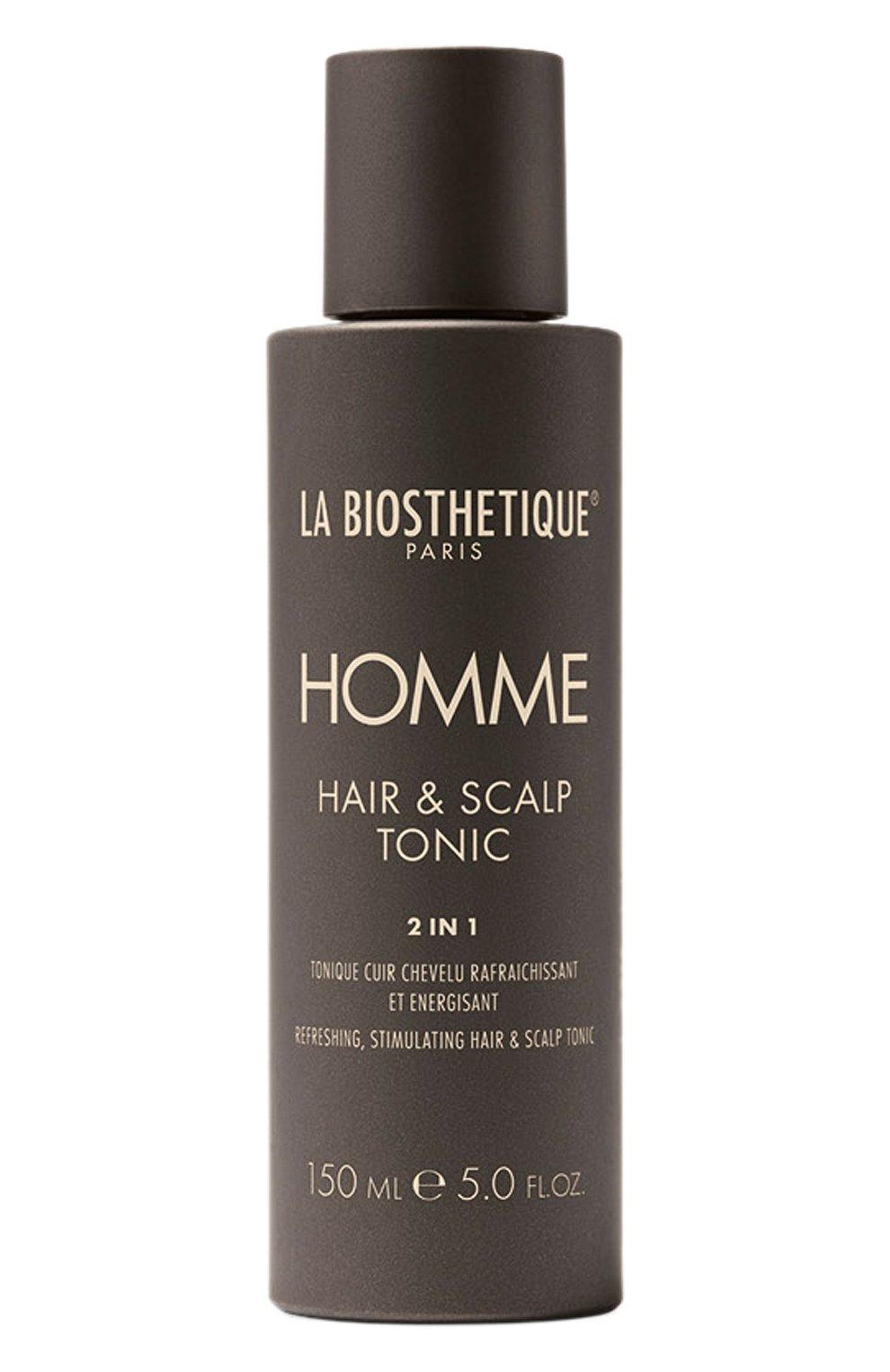 Мужского стимулирующий лосьон для кожи головы LA BIOSTHETIQUE бесцветного цвета, арт. 3338   Фото 1