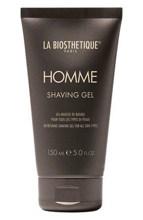 Мужская гель для бритья для всех типов кожи LA BIOSTHETIQUE бесцветного цвета, арт. 3297 | Фото 1