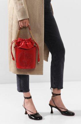 Женская сумка GIORGIO ARMANI красного цвета, арт. Y1E137/YTC5A | Фото 2