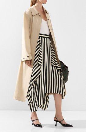Женская кожаные туфли ray 65 JIMMY CHOO черного цвета, арт. RAY 65/JWR | Фото 2
