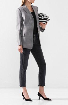 Женская замшевые туфли rene 65 JIMMY CHOO черного цвета, арт. RENE 65/SPT | Фото 2