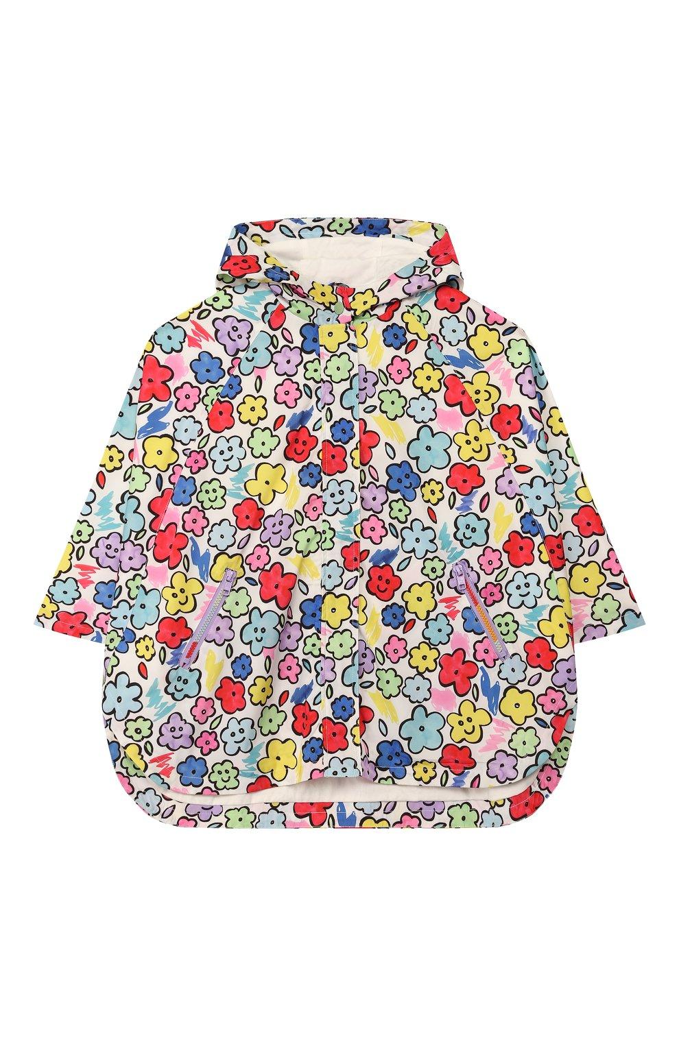 Детский дождевик STELLA MCCARTNEY разноцветного цвета, арт. 596252/S0KB3 | Фото 1