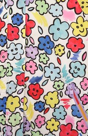 Детский дождевик STELLA MCCARTNEY разноцветного цвета, арт. 596252/S0KB3 | Фото 3