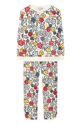 Детская комплект из свитшота и брюк STELLA MCCARTNEY разноцветного цвета, арт. 600004/S0JD3 | Фото 1
