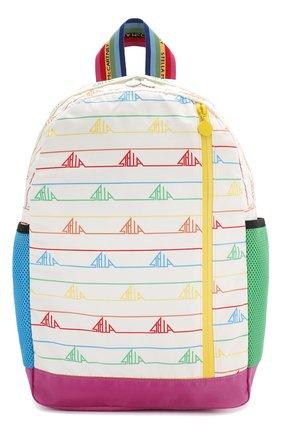 Детская рюкзак STELLA MCCARTNEY белого цвета, арт. 593058/S0D25 | Фото 1