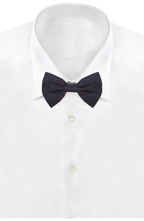 Мужской шелковый галстук-бабочка CORNELIANI темно-синего цвета, арт. 85U308-0120300/00 | Фото 2