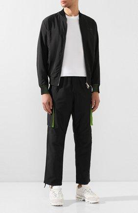 Мужские комбинированные кроссовки comme des garcons x nike air max 95 NIKELAB белого цвета, арт. PE-K101-002 | Фото 2