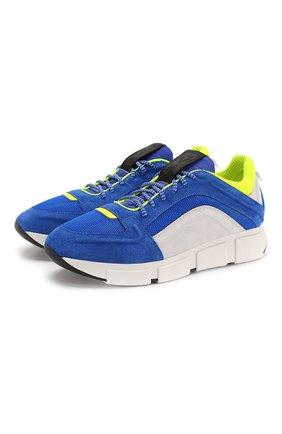 Мужские комбинированные кроссовки VIC MATIE синего цвета, арт. 1X8138U.V04TXDTD09 | Фото 1