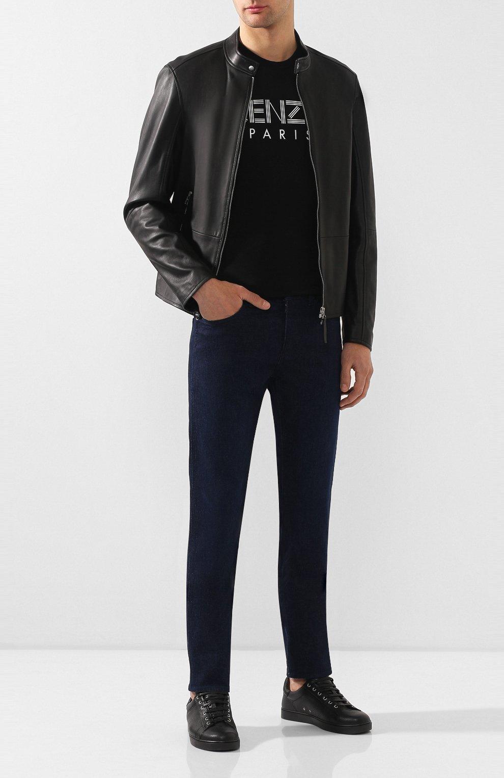 Мужские джинсы BOSS синего цвета, арт. 50432472 | Фото 2