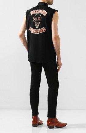 Мужская джинсовая рубашка genuine motorclothes HARLEY-DAVIDSON черного цвета, арт. 96472-15VM | Фото 2