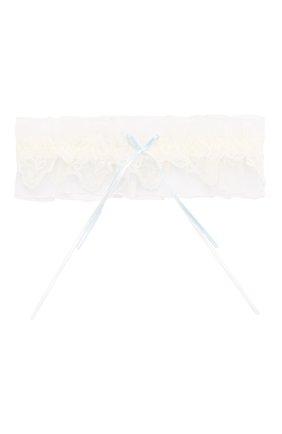 Женские подвязка LISE CHARMEL белого цвета, арт. ACG5032 | Фото 1