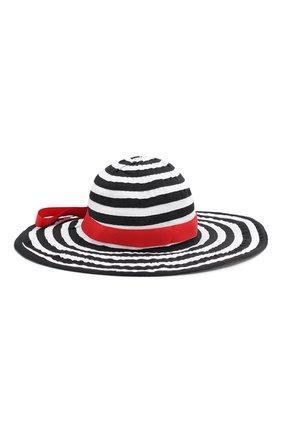 Детская хлопковая шляпа CATYA разноцветного цвета, арт. 014021 | Фото 1