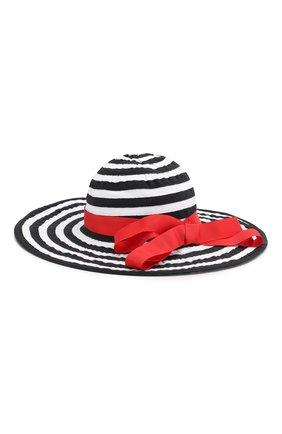 Детская хлопковая шляпа CATYA разноцветного цвета, арт. 014021 | Фото 2