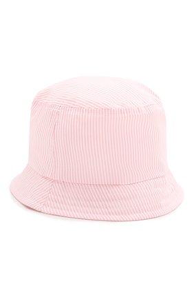 Детская хлопковая панама CATYA розового цвета, арт. 014033 | Фото 2
