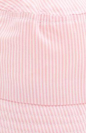 Детская хлопковая панама CATYA розового цвета, арт. 014033   Фото 3