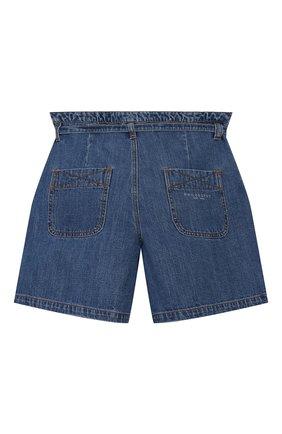 Детские джинсовые шорты PHILOSOPHY DI LORENZO SERAFINI KIDS синего цвета, арт. PJBE12/DF003/VHUNI/L-XL | Фото 2
