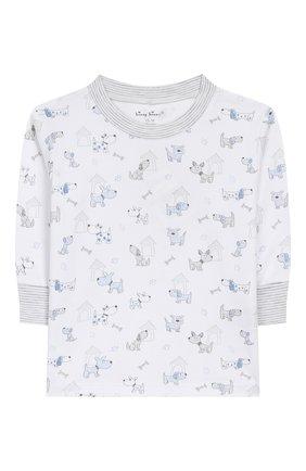 Детский хлопковая пижама KISSY KISSY голубого цвета, арт. KB604328I | Фото 2