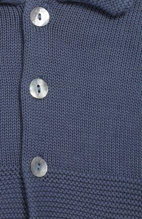 Детский хлопковый кардиган TARTINE ET CHOCOLAT синего цвета, арт. TQ44011/1M-1A | Фото 3