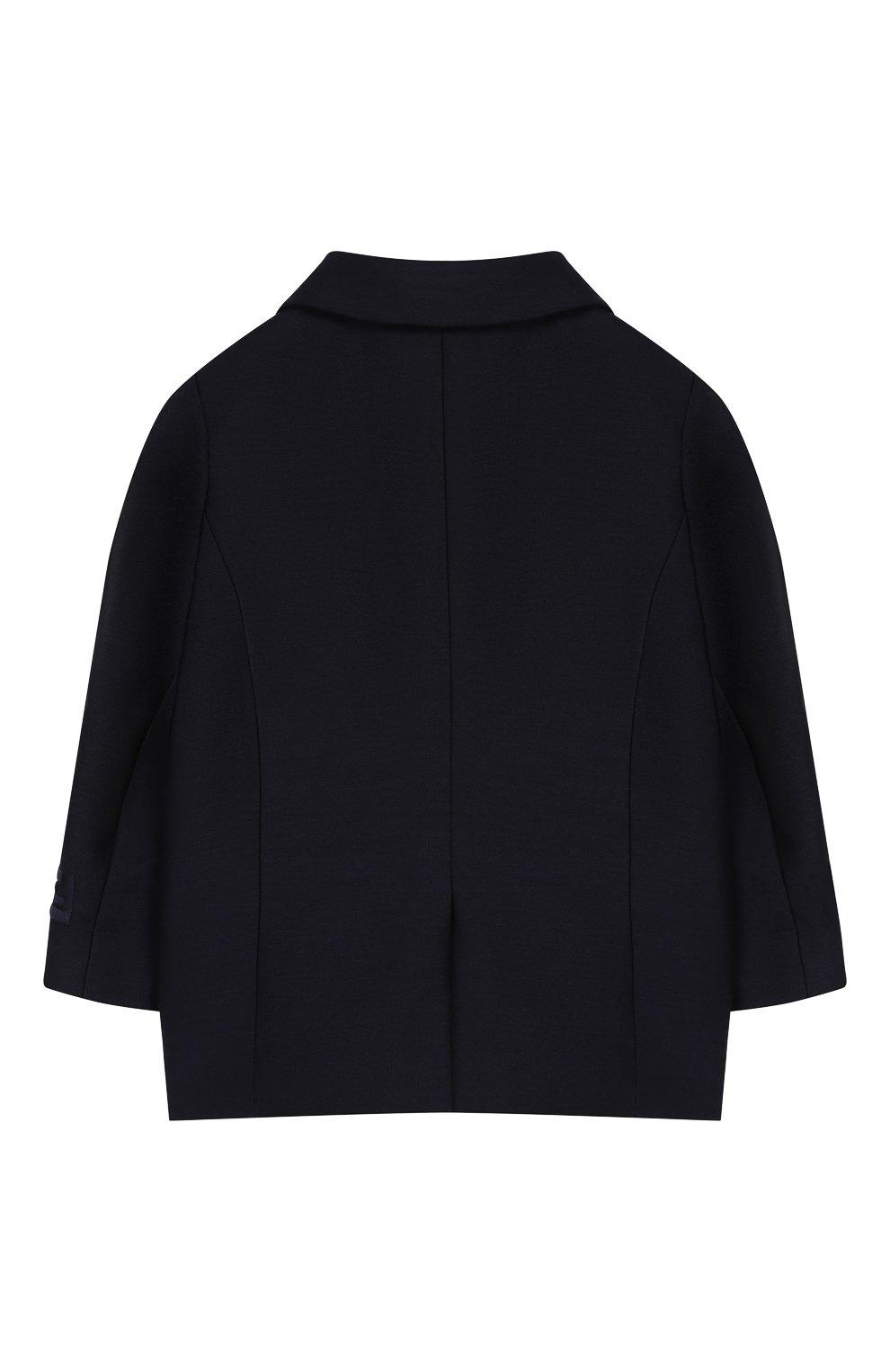 Детский пиджак FENDI темно-синего цвета, арт. BMA103/ABYM/12M-24M | Фото 2